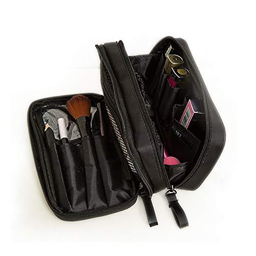 SciuU Toilettas, van nylon, draagbaar, multifunctionele make-up-organizer, voor make-up, toiletartikelen, reis- of woonaccessoires