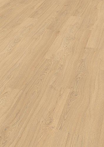 EGGER Home Laminat natur hell braun Holzoptik - Matera Eiche hell EHL107 (8mm, 1,985m²) Klick Laminatboden | Bodenbelag