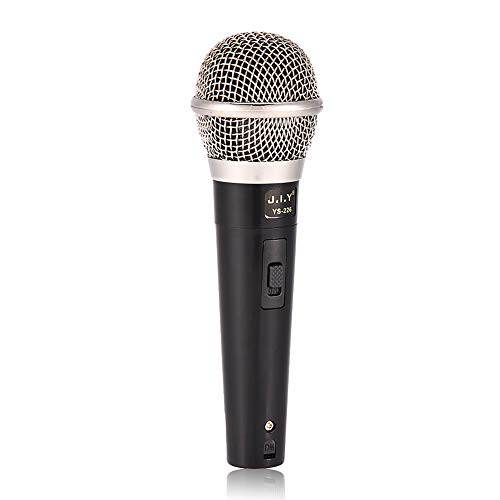 "Micrófono Profesional microfono dinámico, Cable de 3 m de Largo (Cable XLR a 1 4 ""), micrófono de Mano Profesional para Karaoke, actuación, Karaoke, Habla, KTV doméstico, reuniones"