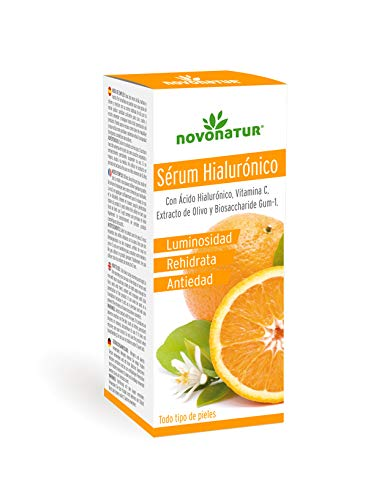 Serum facial de Colágeno Hidrolizado con Ácido Hialurónico, vitamina C, Biosaccharide GUM-1 y Extracto de olivo. Suero Premium antiarrugas y tensor de piel. Efecto inmediato.