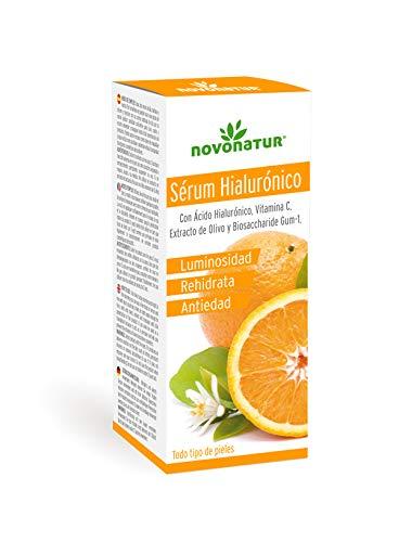 Gehydrolyseerd collageen gezichtsserum met hyaluronzuur, vitamine C, Biosaccharide GUM-1 en olijfextract. Premium serum tegen rimpels en huidverstrakking