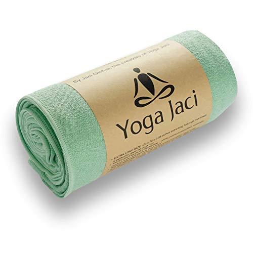 Yoga Mat Towel - Non Slip - Sweat Absorbent - Soft Microfiber Towels - for Pilates, Mat,...