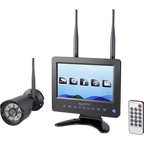 sygonix SY-4548736 Funk-Überwachungskamera-Set 4-Kanal mit 1 Kamera 1280 x 720 Pixel 2.4GHz
