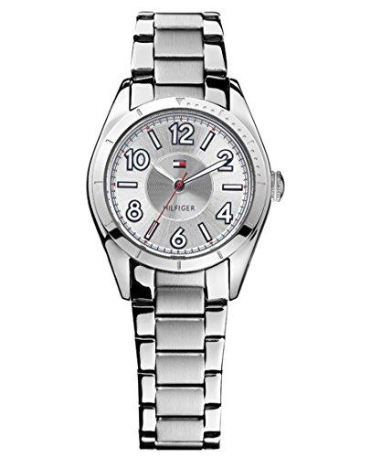 Tommy Hilfiger 1781276 - Reloj de Cuarzo para Mujer, Correa de Acero Inoxidable Color Plateado