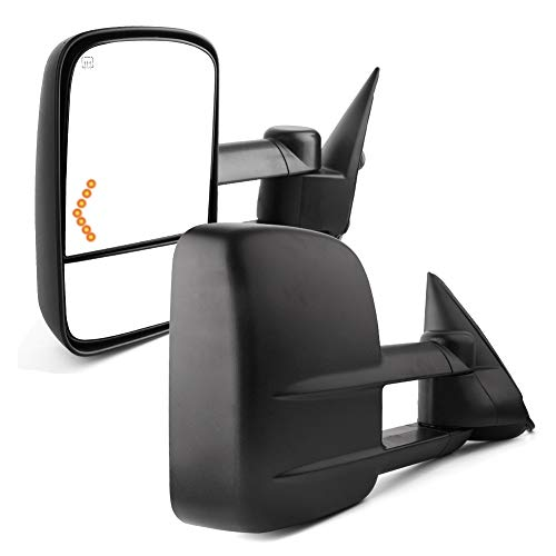 05 chevy silverado tow mirrors - 1