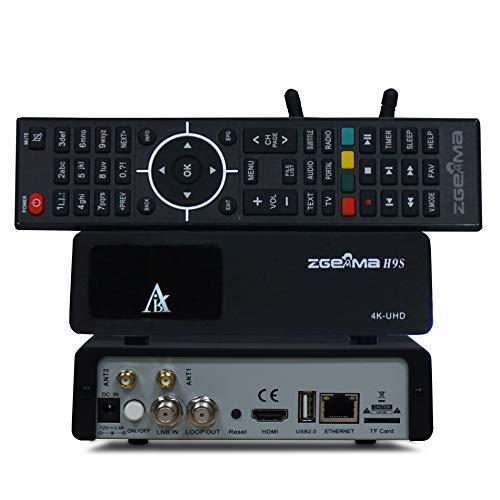 New ZGEMMA H9S with 300Mhz WIFI DVB-S2X 4K UHD Multistream Satellite Receiver