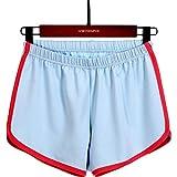 Pantalones Cortos de Yoga Ajustados Sexis para Mujer, Pantalones Cortos de Verano Transpirables de Secado...