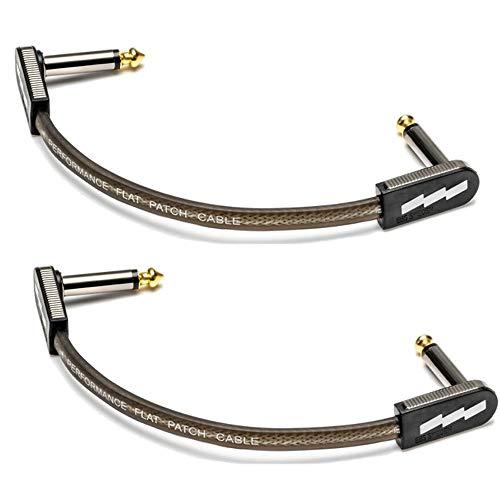 【2本セット】EBS PCF/HP10 ハイ・パフォーマンス フラットパッチケーブル 10cm L/L The High Performance Flat Patch Cable