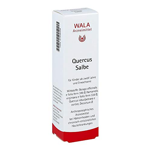 WALA Quercus Salbe bei Hämorrhoiden, 30 g Salbe
