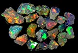 emartwala Opal lot Black Opal Natural Ethiopian...
