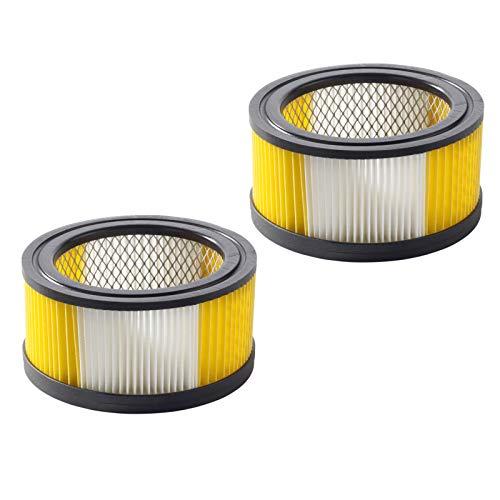 2x Filtro de cartucho mojado y seco Kärcher Aspirador WD 5.400 / WD 5.470 / WD 5.600 MP & WD 5.800 eco!ogic alternativa a la original 6.414-960.0/64149600 de Microsafe