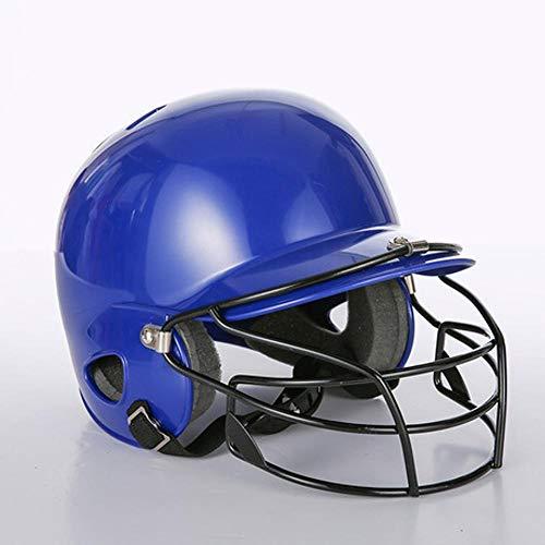 MAlex Baseball Helm Kind Baseball Streik Helm Schutz Kopf Gesicht Ohr Verschleiß Maske Schutzhülle Bar Softball