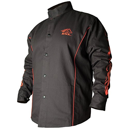 Black Stallion BSX FR Welding Jacket