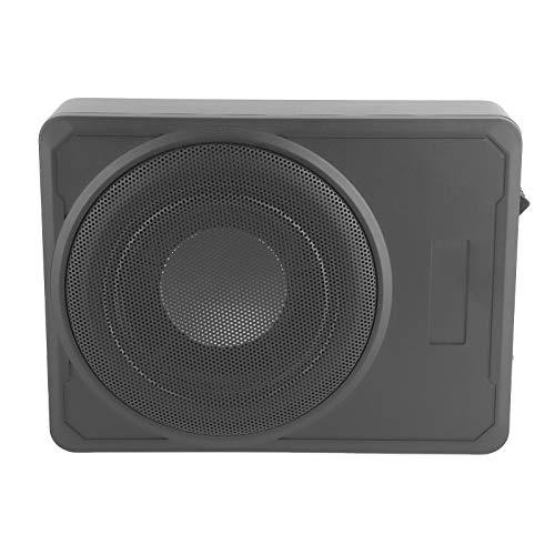 Auto-Subwoofer , Subwoofer aus Aluminiumlegierung mit schmalem Verstärker Bassgehäuse Lautsprecher unter dem Sitz Audiogerät 10in 12V 800W für PKW/LKW