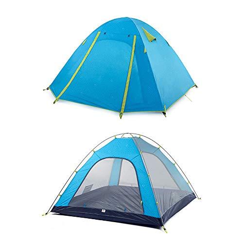 Outdoor Camping Tent Aluminium Paal 3 Mensen Blauw Regendicht Waterdichte Wilderness Overleving Bergbeklimmen Winddicht Snowproof Tent Outdoor Uitrusting buitenproducten, Zwembad, Zwembed volwassene, sw