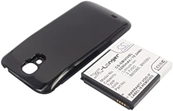 Cameron Sino 5200mAh Battery for Samsung Galaxy S4, Galaxy S4 LTE, GT-I9500, GT-i9502, GT-i9505 (Black Cover)