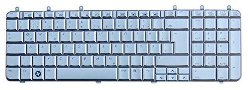 NExpert Original deutsche QWERTZ Tastatur für HP Pavilion dv7 dv7-10XX 11XX 12XX Series DE Neu Silber