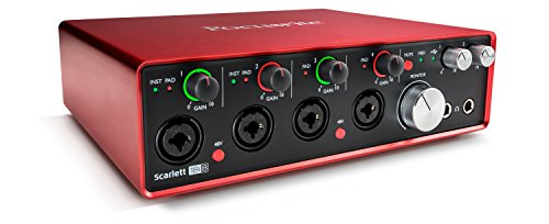 Focusrite Scarlett 18i8 (2G) USB-Audio-Interface mit Pro Tools