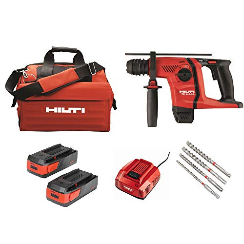 Hilti 36-Volt Lithium-Ion 1/2 in. SDS Plus Cordless Rotary Hammer TE 6-A36 Compact Kit