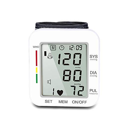 LHFD Blutdruckmessgerät, Sprachmessgerät am Handgelenk, Diagnose eines unregelmäßigen Herzschlags, Pulsfrequenzmessgerät