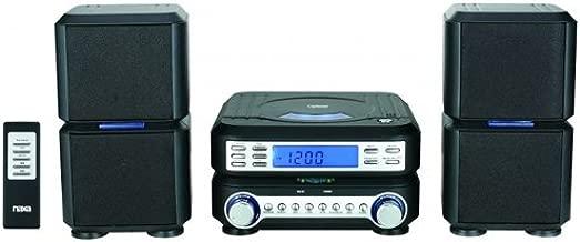 Naxa Digital CD Micro System with AM-FM Stereo Radio