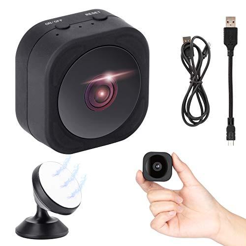 Mini Kamera, 1080P HD Mini Überwachungskamera WlAN IP Kamera, Überwachungskamera innen Micro WiFi Akku Kleine Kamera,Handy APP mit Bewegungsmelder Speicher Nachtsichtkamera den Außen- und Innenbereich