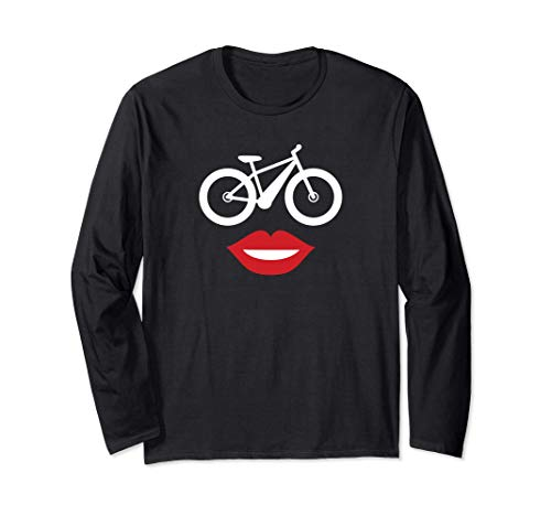 Ebike Mom Happy Face E-bike for Mom Manche Longue