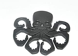 Daphot-Store - 1PC 3D HYDRA Marvel Skeleton Skull Animal Hot Metal Stickers Car Styling Motorcycle Accessories Badge Label Emblem Car Stickers