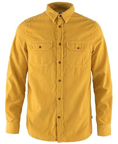 Fjällräven Herren Övik Cord Shirt M Hemd, braun, L