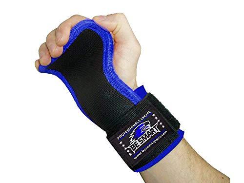 BeSmart Empuñaduras de levantamiento de pesas para gimnasio, almohadilla de gel de...