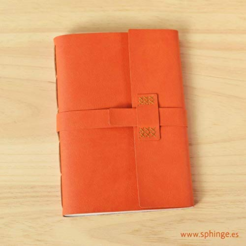 SPHINGE – Cuaderno de piel sintética en blanco para escribir A5   Cubierta de...