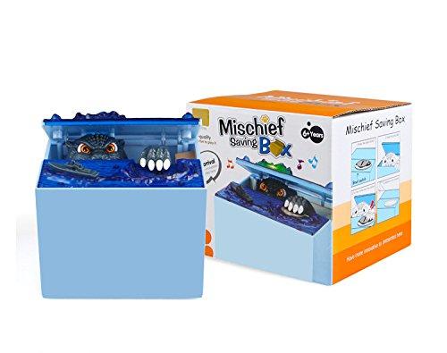 Faironly Elektronische Automatik Stehlmünze Godzilla Box Neuheit Münze Bank Spardose Spielzeug & Home Decor Geschenk für Kinder Godzilla