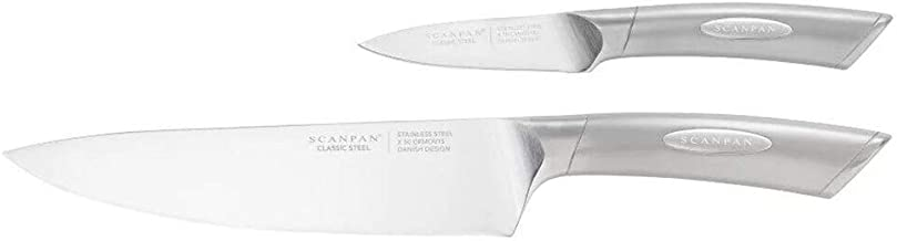 Scanpan Classic Steel Chef's Set, Silver, 18374