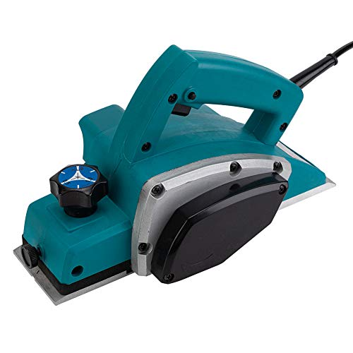 jkh-win AC110V 800W Powerful Electric Wood Hand Planer Surface Hand Held Accurate Smooth Door Planer Machine for Carpenter