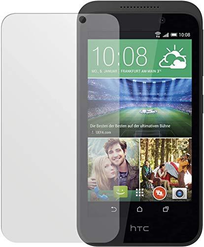 dipos I 2X Schutzfolie matt kompatibel mit HTC Desire 320 Folie Bildschirmschutzfolie
