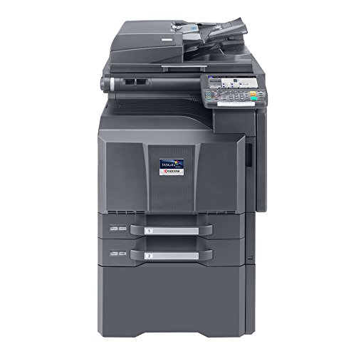 Kyocera TASKalfa 5550ci Tabloid-Size Color Laser Multifunction Copier - 55 ppm, Copy, Print, Scan, Duplex, 11x17, 12x18, 2 Trays, Stand