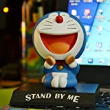 Dhl Animado decoración del Coche Creativo del Robot Gato Principal móvil de la muñeca de Juguete Decoración (Color : C, Size : 10cm)
