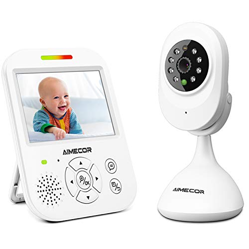 Find Bargain Video Baby Monitor with Camera - 3.5 inch IPS Display,HD Night Vision Camera, 960ft Tra...