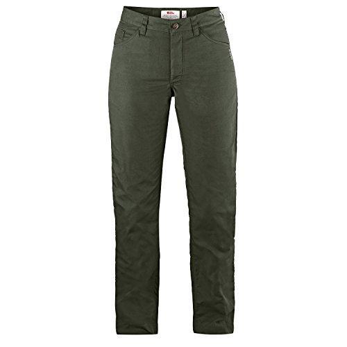 Fjällräven Damen Greenland Lite Jeans W Lange Hosen, Mountain Grey, 44