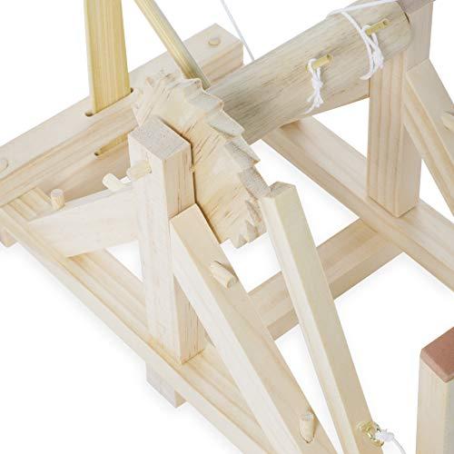 Thumbs Up A0000779 DaVinci Katapult Funktionmodell aus Holz zum Selbstbau