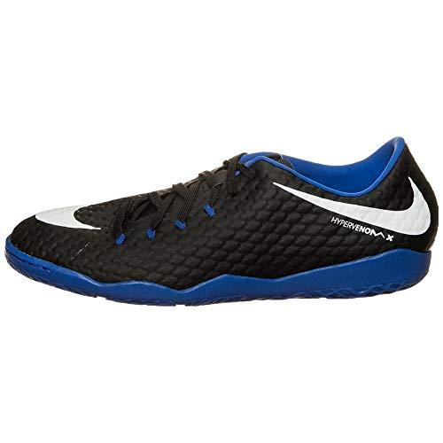 Nike Hypervenom Phelon III Indoor Scarpe da calcio uomo, nero/bianco