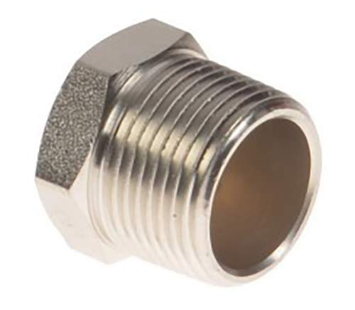 Brass Breather Vents for Hydraulic Cylinders BV-48: 40 Filter Mircon, 1/2
