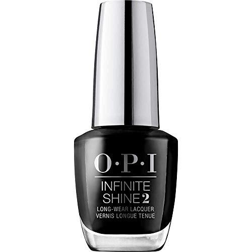 OPI Infinite Shine - Esmalte de Uñas de Larga Duración a Nivel de Una Manicura Profesional Lady In Black Negro - 15 ml