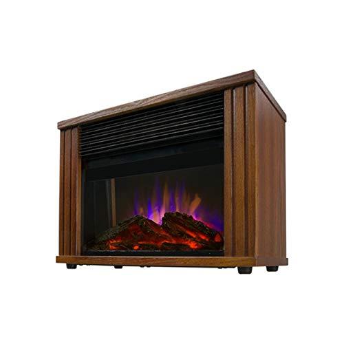 Elektrischer Kamin Virtuelle 3D-Flamme,Thermostat Schnelle Erwärmung, Energieeinsparung, Automatische Abschaltung