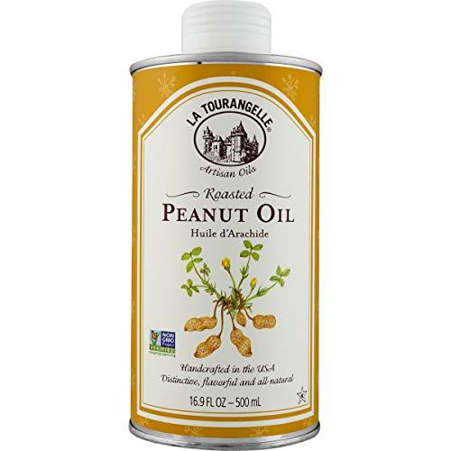 La Tourangelle Roasted Peanut Oil 16.9 Fl. Oz., Rich Flavorful Peanut Oil, Great in...