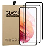 Young & Min [2 Piezas] Protector Pantalla para Samsung Galaxy S21, Dureza 9H Cobertura Cristal Templado para Samsung Galaxy S21