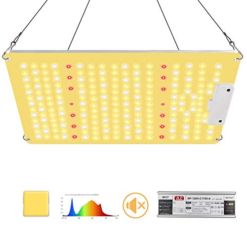 1000w LED Grow Lights, Full Spectrum Grow Lights with Samsung 301B diodes and IR , High PPFE 2.7 Waterproof Grow Lamp Fixtures for Indoor Plants Seeding Veg Flower in 2x2ft Coverage