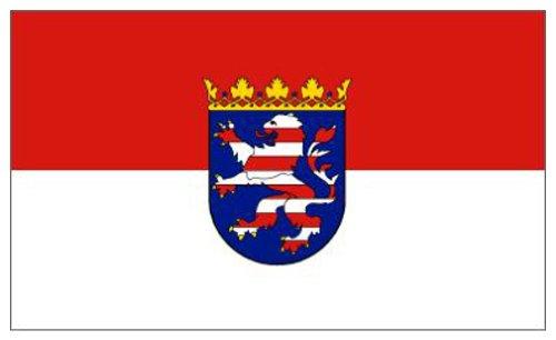 Klicnow Hessen Deutschland Flagge 5'x3'