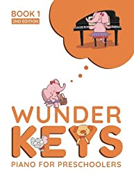 Kids Piano Lessons Birmingham - WunderKeys For Preschools Book 1