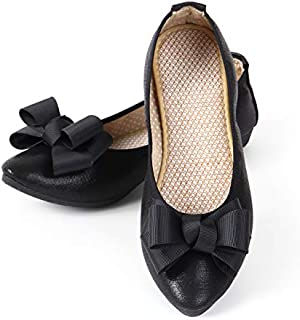 [LASSE MOA] 携帯スリッパ レディース 折りたたみシューズ 折りたたみ パンプス バレエシューズ 歩きやすい 軽量 ぺたんこ フラット シューズ 婦人靴
